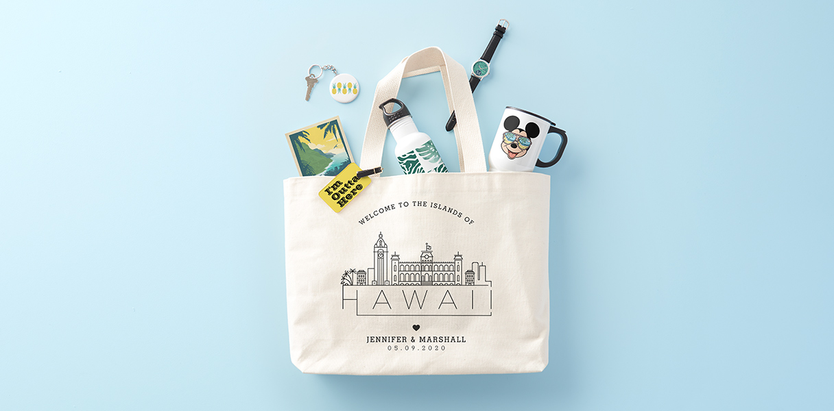 Planning a Destination Wedding? Tote Bags Are the Perfect Way to Say
