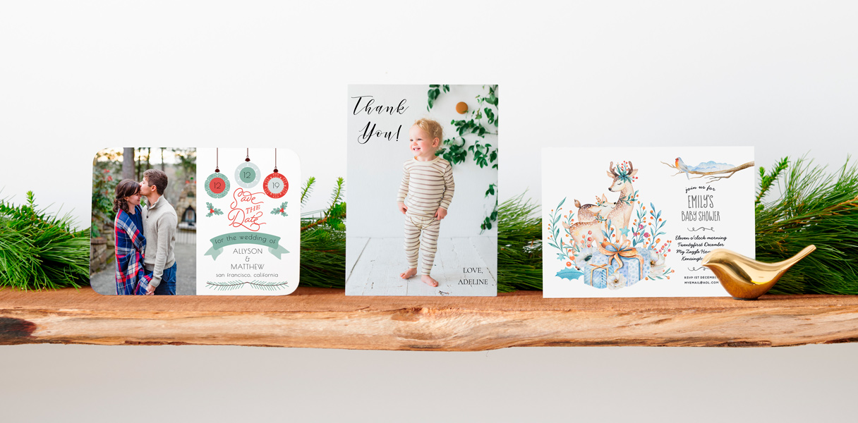 60% Off Cards & Invites
